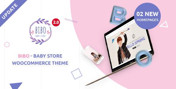 Bibo Baby Store & Kids Shop WooCommerce Theme