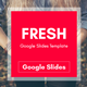 Fresh Multipurpose Google Slides Template - GraphicRiver Item for Sale