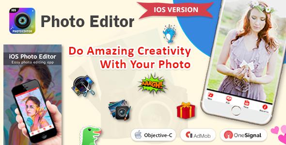 iOS Photo Editor - CodeCanyon Item for Sale