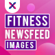 Fitness Social Media Banners - 10 Designs - GraphicRiver Item for Sale