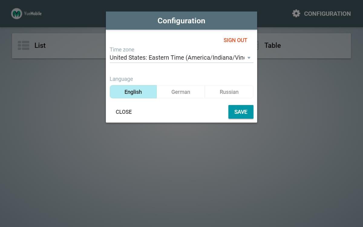 Vue Mobile   Vue js Cordova App