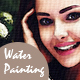 Water Painting Canvas - GraphicRiver Item for Sale
