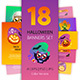 Halloween Banners Set Colorful Version - GraphicRiver Item for Sale