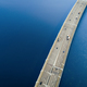 Aerial view of a high way road on the bridge  - PhotoDune Item for Sale