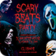 Scary Beats Party Flyer - GraphicRiver Item for Sale