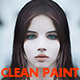 Free Download Clean Paint Photoshop Action Nulled