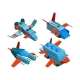 Spaceships Isometric. Space Technologies Cargo