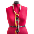 front view of red dress form with measuring tape - PhotoDune Item for Sale