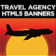 Multipurpose Travel Agency HTML5 Banners  | Animate CC - CodeCanyon Item for Sale