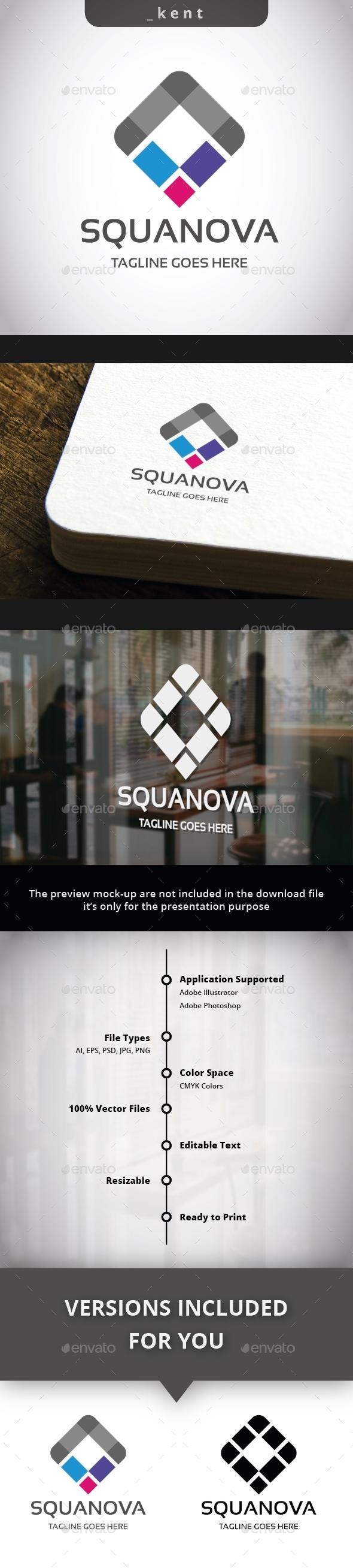Squanova Logo - Symbols Logo Templates