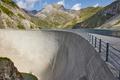 Llauset dam in Aragon. Hydroelectric energy power. Trekking route. Spain - PhotoDune Item for Sale