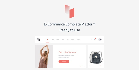 Avin A Multi-Concept Ecommerce Sketch Template - Sketch Templates