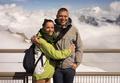 Beautiful couple on holiday on Mont Blanc - PhotoDune Item for Sale