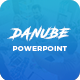 Free Download Danube - Clean Business Powerpoint Presentation Template Nulled