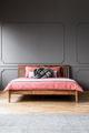 Grey hotel bedroom interior - PhotoDune Item for Sale