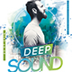 Deep Sound Party Flyer-Graphicriver中文最全的素材分享平台
