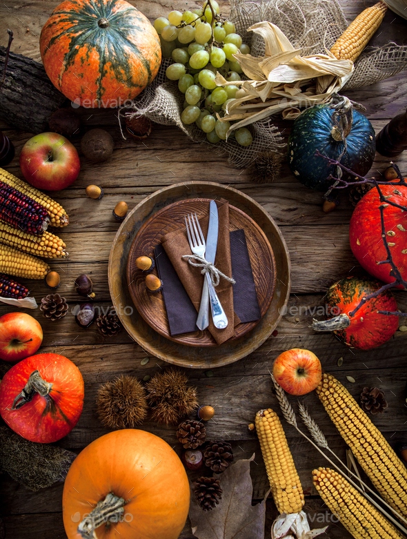 Thanksgiving - Stock Photo - Images