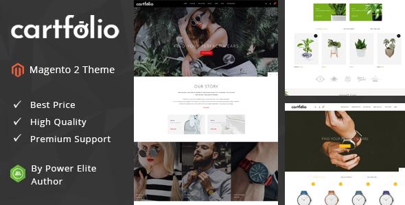 Cartfolio - Responsive Magento 2 Theme
