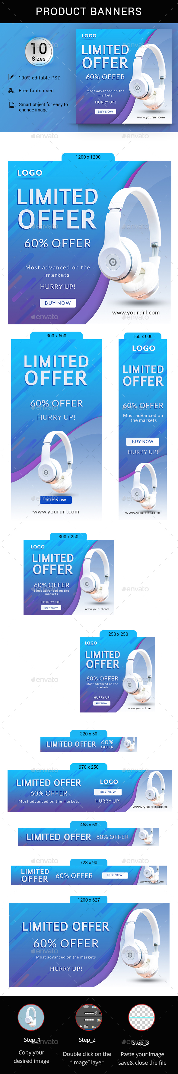 Limited Offer - Banners & Ads Web Elements