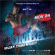 Combat Muay Thai Flyer - GraphicRiver Item for Sale