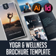 Yoga & Wellness Brochure Template - GraphicRiver Item for Sale