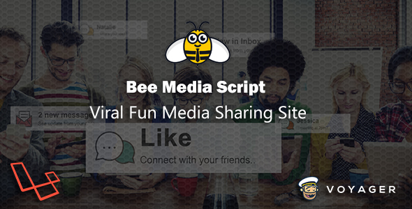 Bee Media Script - Viral Fun Media Sharing Site - CodeCanyon Item for Sale