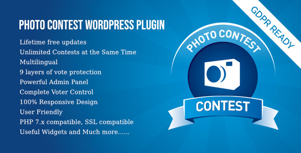 Photo Contest WordPress Plugin - CodeCanyon Item for Sale