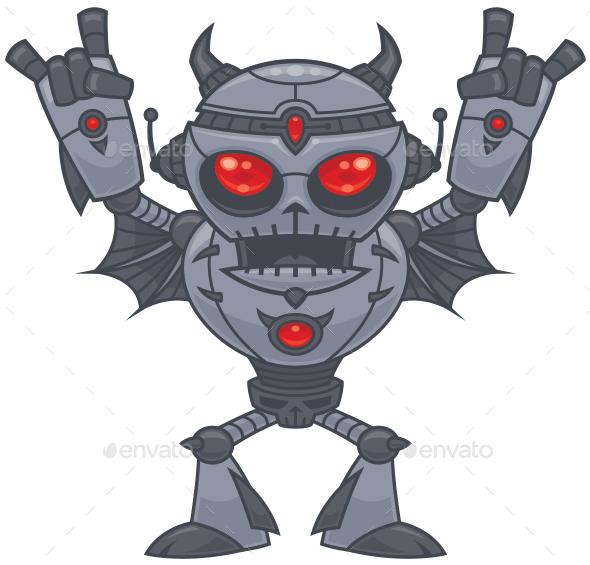 Metalhead - Heavy Metal Robot - Miscellaneous Characters