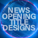 News Title Design - VideoHive Item for Sale
