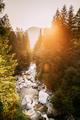 Tatra National Park, Poland. Sunrise Above Waterfall Wodogrzmoty - PhotoDune Item for Sale