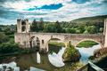 Besalu, Girona, Catalonia, Spain. Famous Landmark Old Medieval R - PhotoDune Item for Sale