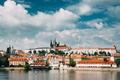 Prague, Czech Republic. Upper Town. Prague Castle And Metropolit - PhotoDune Item for Sale