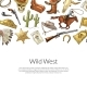Vector Drawn Wild West Cowboy - GraphicRiver Item for Sale