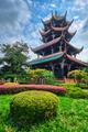 Wangjiang Pavilion in Wangjianglou park. Chengdu, Sichuan, China - PhotoDune Item for Sale