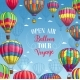 Vector Poster for Hot Air Balloon Trip Tour - GraphicRiver Item for Sale