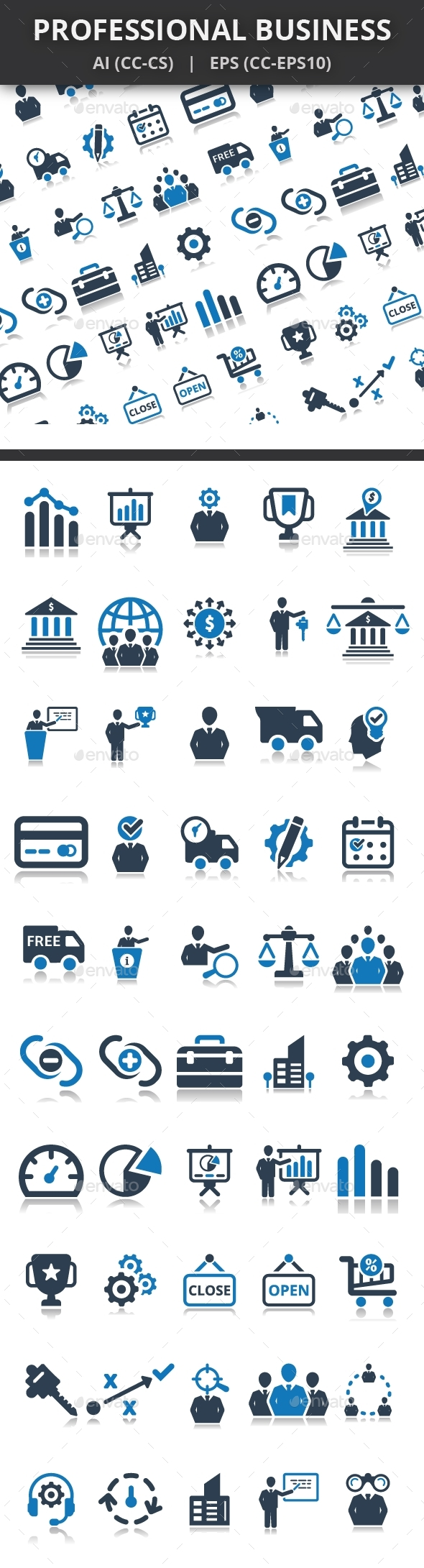Professional Business Icons - Business Icons