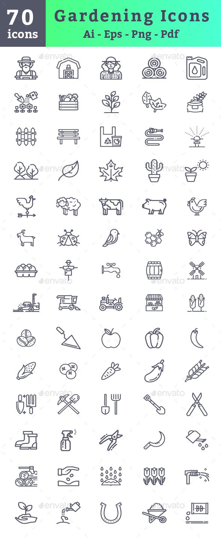 Gardening Icons - Icons