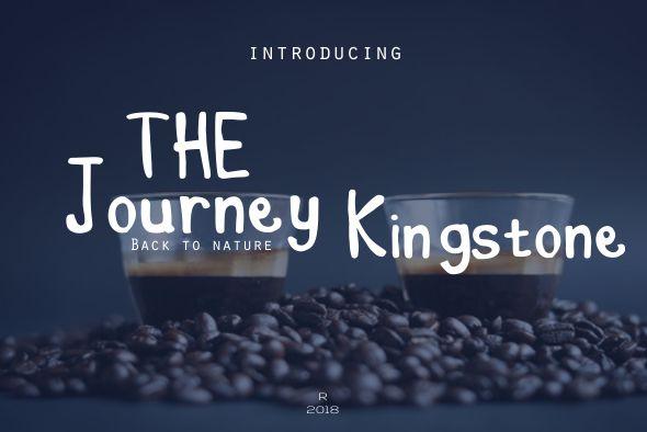 The Journey Kingstine - Hand-writing Script