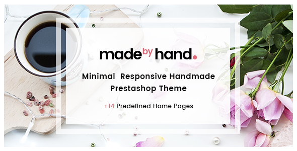 Made By Hand - Minimal Handmade Prestashop Theme - PrestaShop eCommerce