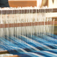 Weave silk cotton on the manual wood loom - PhotoDune Item for Sale