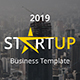 Free Download Starup Business Creative Powerpoint Template Nulled