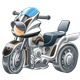 Motor Tricycle - GraphicRiver Item for Sale