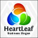 Heart Leaf Logo - GraphicRiver Item for Sale