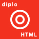 Free Download Diplo | Business Multi Page and One Page Template Nulled