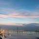 jiujiang cable stayed bridge in nightfall - PhotoDune Item for Sale