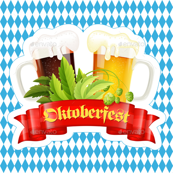 Oktoberfest Beer Festival Poster - Miscellaneous Seasons/Holidays