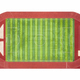 red runway and green football field isolated - PhotoDune Item for Sale
