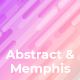 Free Download Abstract & Memphis Backgrounds Nulled