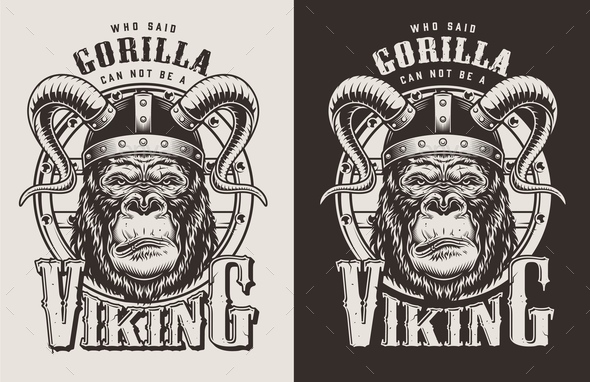 Gorilla - Animals Characters