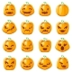 Decoration Halloween Jack O Lantern Pumpkins - GraphicRiver Item for Sale
